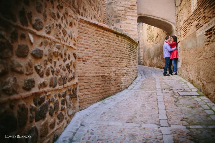 María Teresa + Juan Carlos... Sesión preboda en Toledo