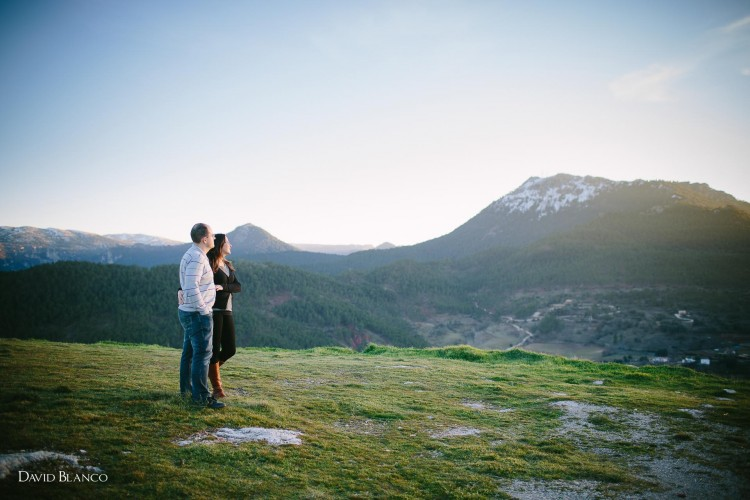 María + Mario... Preboda en la Sierra de Alcaraz