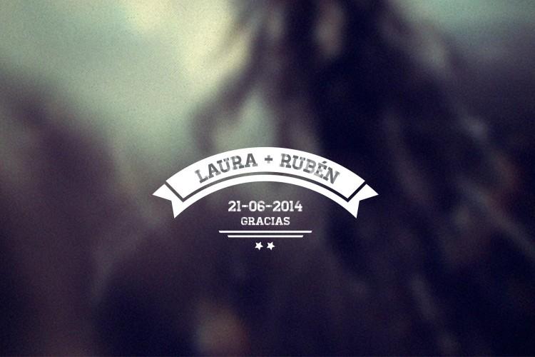 Laura + Rubén...Gracias